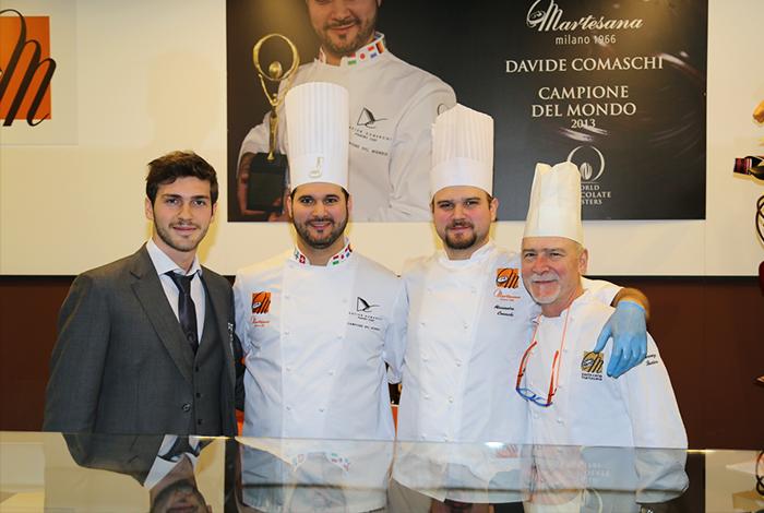 Un grande successo per la prima edizione italiana del Salon du Chocolat