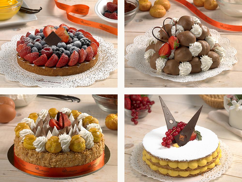 Pasticceria Martesana Milano - Torte classiche