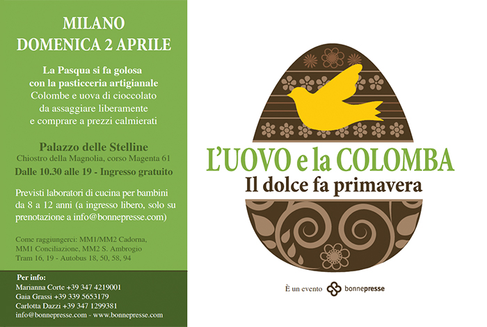 L'Uovo e la Colomba – 2 aprile