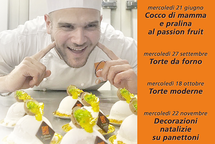 Pastry Course with Alessandro Comaschi @ Accademia Marchesi