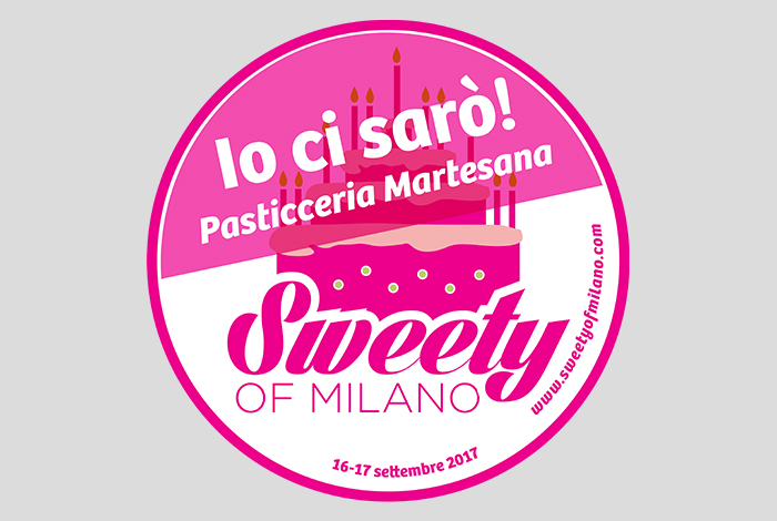 Saremo a Sweety of Milano!
