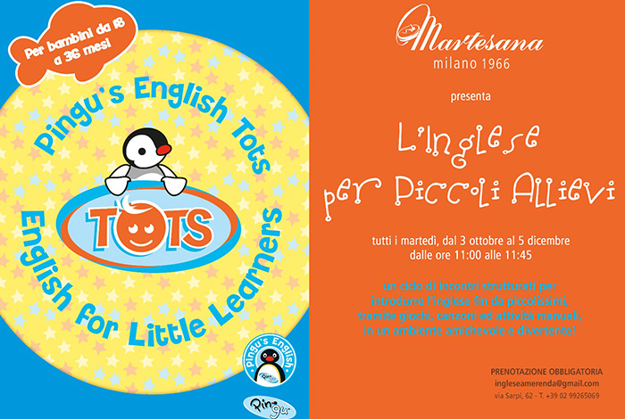 Pingu's English for small pupils