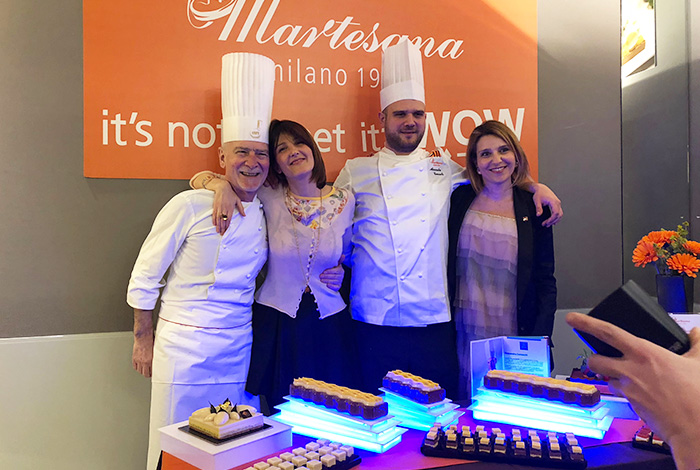 Martesana Milano presentazione pastry design