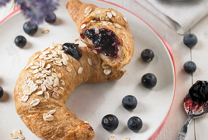 For those who…I cannot have breakfast without Croissants!