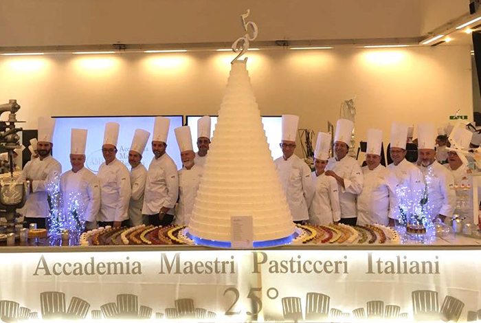 25th Anniversary of the Italian Master Pastry Chefs Academy (AMPI)