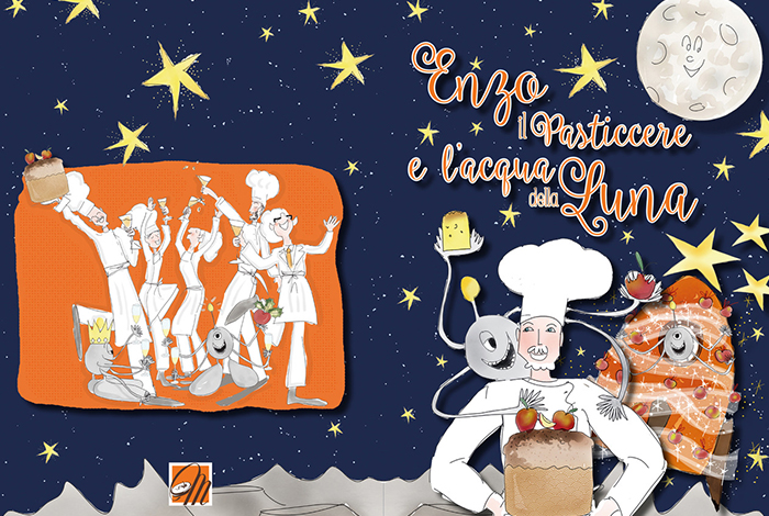 New book « Enzo the Pastry chef and the moon water »