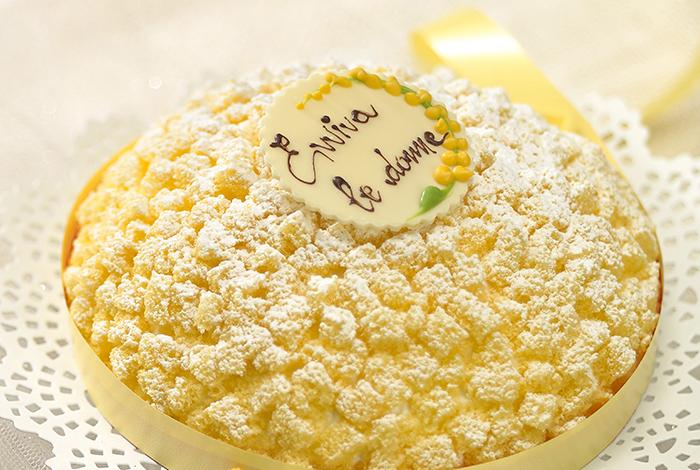 La Torta Mimosa per Associazione Telefono Donna
