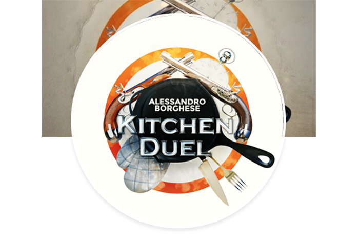 Vincenzo Santoro judge at Kitchen Duel by Alessandro Borghese