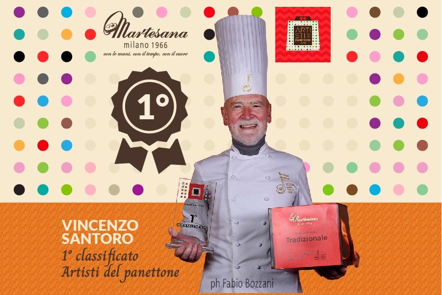 """""""Artisti del Panettone 2020"""": Vincenzo Santoro vince!"""